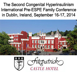 Congenital Hyperinsulinism Conference in Dublin, 2014