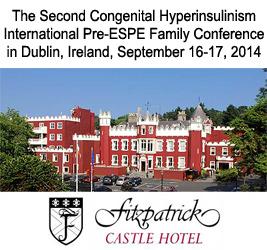 Congenital Hyperinsulinism Conference in Dublin, 2014