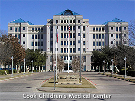Cook Children's Hospital in Fort Worth, Texas