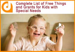 blog article on free things for kids with special needs