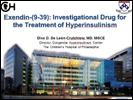 Report on Exendin drug for HI