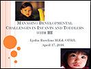 HI Family Conference presentation