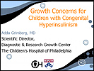 Lecture on Growth Concerns for kids with HI