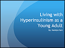 Family Conference presentation on living with HI