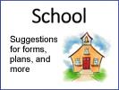 a presentation on preparations for schools