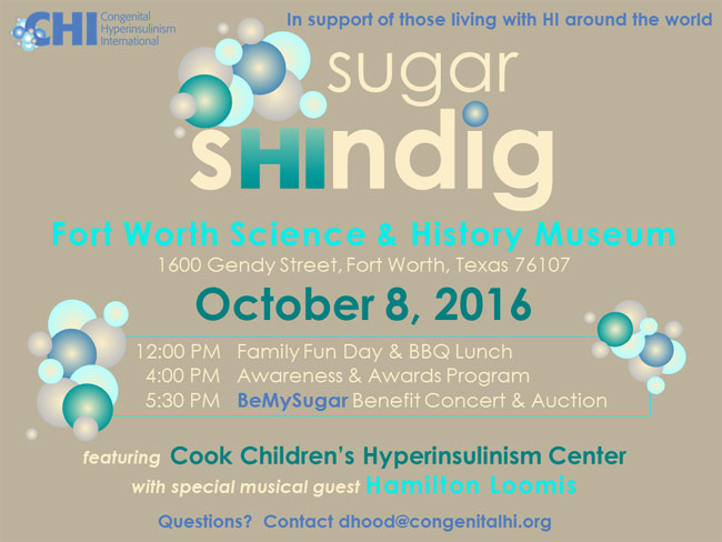 The 2016 Sugar Shindig for CHI