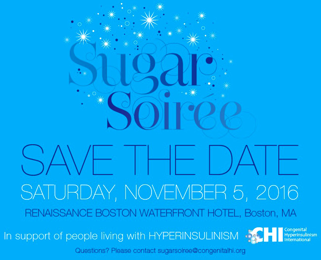 CHI event the Sugar Soiree, 2016 edition