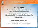 Ulrike Seyfarth and Andrea Teti. Project PEAK.  Participation and Empowerment of Kids with Congenital Hyperinsulinism