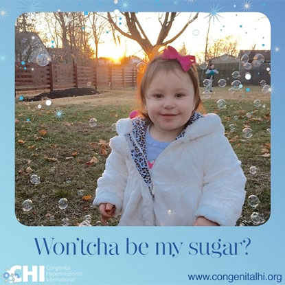CHI campaign Won'tcha Be My Sugar