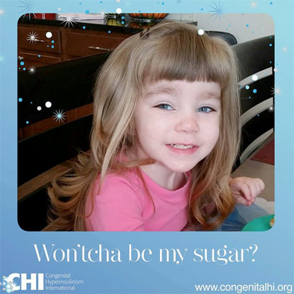"CHI campaign ""Won'tcha Be My Sugar"""