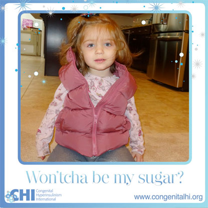 CHI campaign to raise awareness for congenital hyperinsulinism