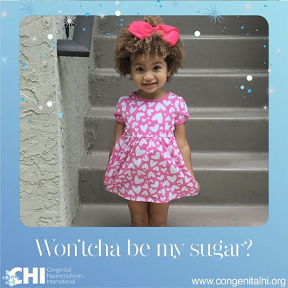 CHI campaign for awareness of congenital hyperinsulinism