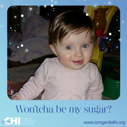 CHI campaign to raise awareness of congenital hyperinsulinism