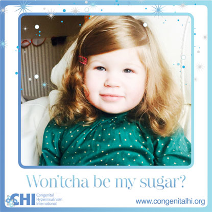 CHI campaign for Won'tcha Be My Sugar