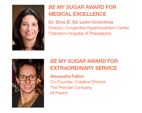honorees at the Sugar Soiree