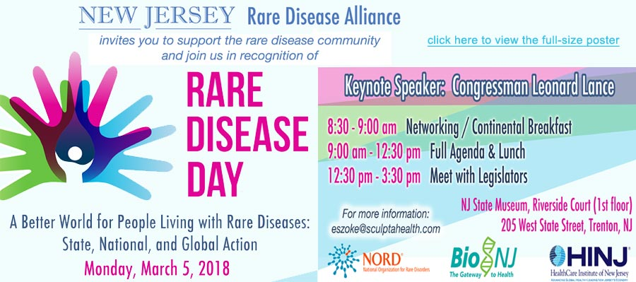 2018 Rare Disease Day Event