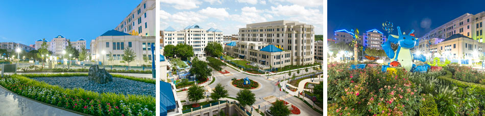 Views of Cook Children's in Fort Worth Texas