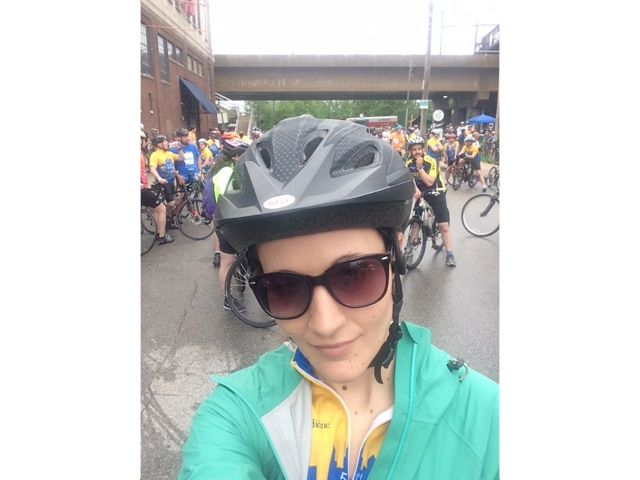 CHI charity bike ride