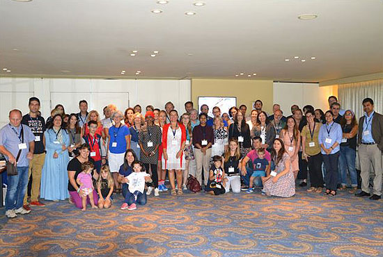 Group picture of CHI Family Conference attendees