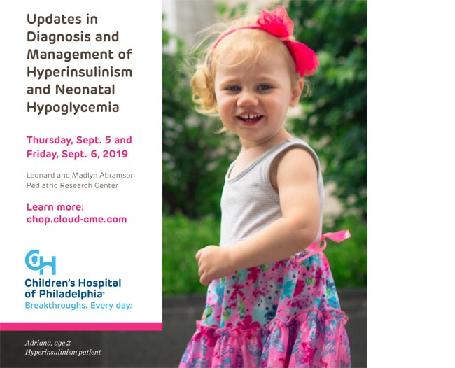 Events | Congenital Hyperinsulinism International