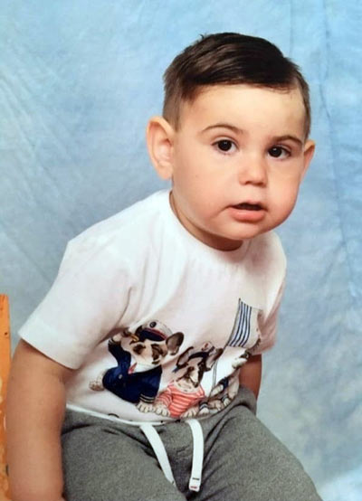 Real life stories about Congenital Hyperinsulinism: Giuseppe's Story