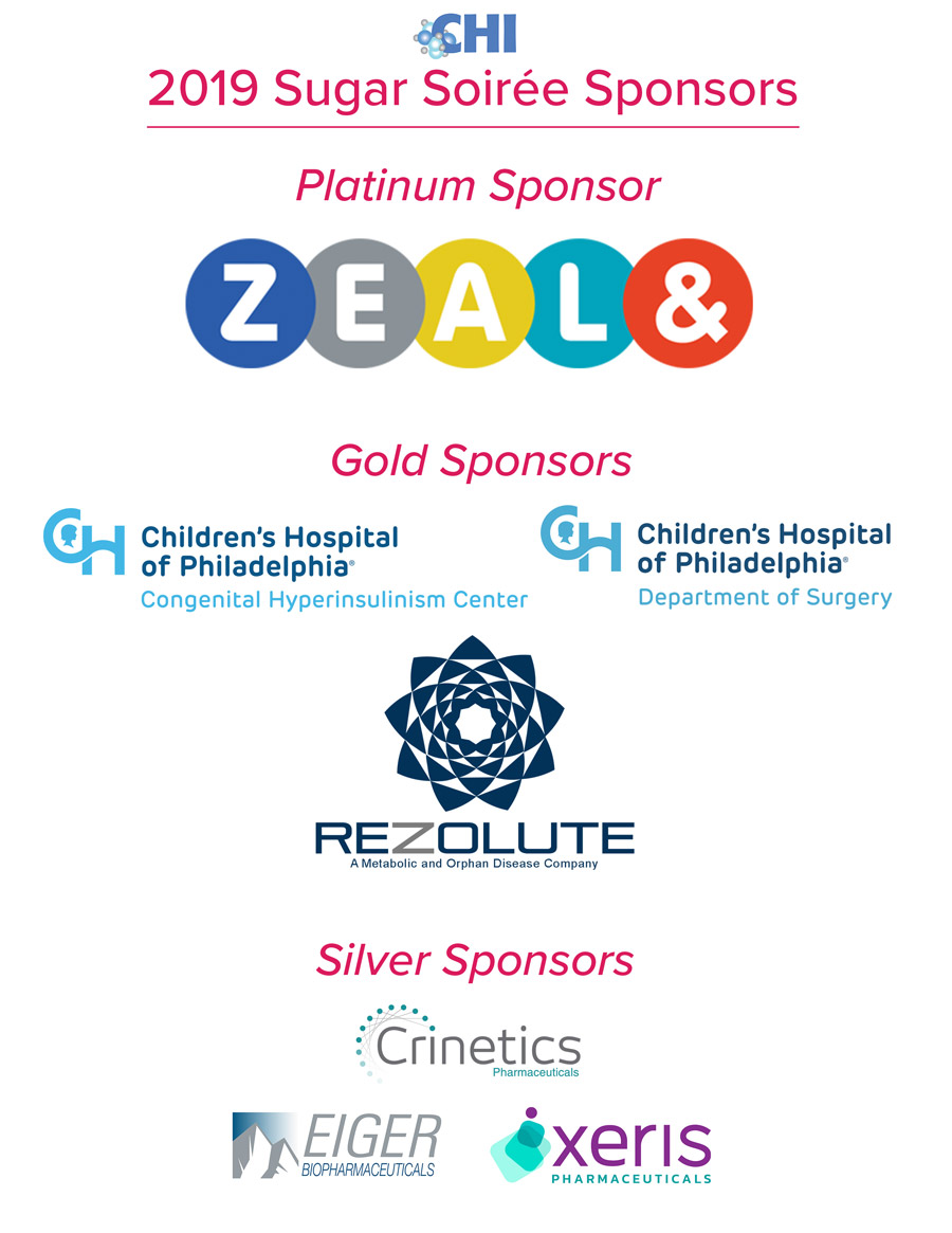 2019 CHI Sugar Soiree Sponsors