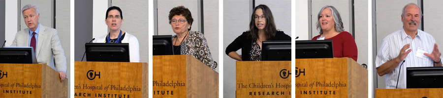 Speakers from the 2019 CHI CHOP Conference in Philadelphia