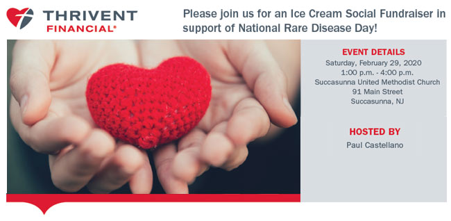 CHI Rare Disease Day Ice Cream Social
