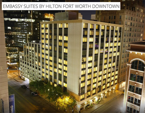 Embassy Suites in Downtown Fort Worth
