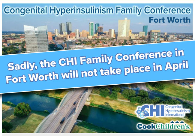 CHI Family Conference in Fort Worth is postponed