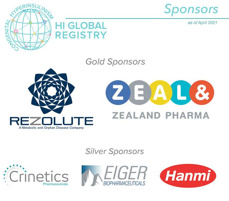 2021 Sponsors for HIGR